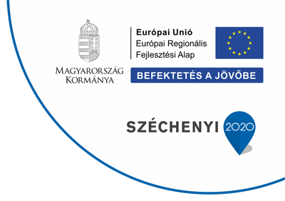 It is co financed by European Union and European Regional Development Fund. Hungarian Goverment. Investing in your future. Széchenyi 2020