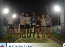 Futócsapatunk a Tisza-tónál