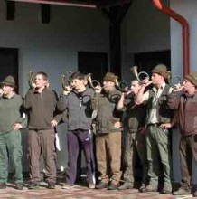 Vadászkürtös tanfolyam az Erdei Iskolában